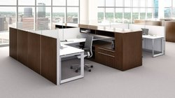 Tile Base Modular Workstation