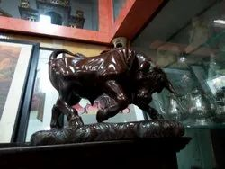Antique Bull Statue
