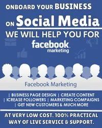 Facebook Promotion Service For Any Business Pan India.