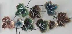 Wall Decor Metal Art Leaf