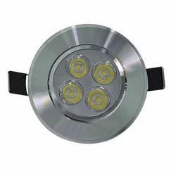 4W Ceiling Light, Shape: Round