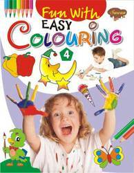 Fun With Easy Colouring 4 Book