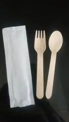 Prakritii Plain Disposable Wooden Cutlery, For Event, Size: 160 Cm