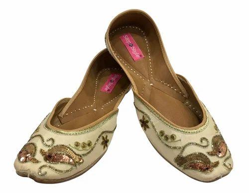8f639b0d8dc Copper Women Step N Style Indian Shoes Pakistani Shoes Wedding Jutti ...