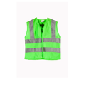 Green Polyester Hi Visibility Jackets, Size: Large And Xl