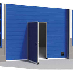 Industrial Pass Entrance Sectional Door