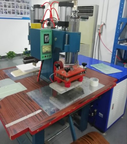 Plastic SEMI AUTOMATIC COVER MAKING MACHINE, Automation Grade: Manual