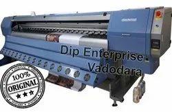 Konica Minolta 1024 Eco Solvent Allwin 1024i Plus High Speed Flex Printing Machine