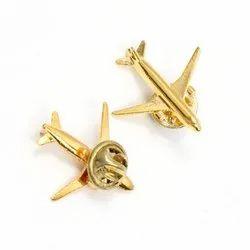 Brass Lapel Pin
