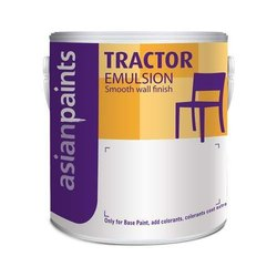 High Gloss Asian Tractor Emulsion Paint, For Interior Walls, Packaging Size: 20 L