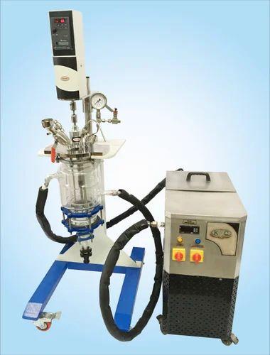 Borosilicate Glass Jacketed Reactor