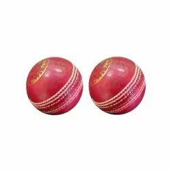 SP Red League Match Cricket Ball, Shape: Round