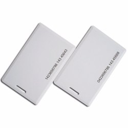 RFID 2.4 GHz Active Tag Card with Battery, Model Name/Number: BBE654