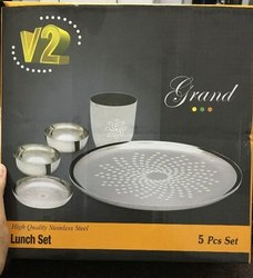 Silver Lunch Set