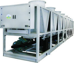 Mild Steel Reynold Air-Cooled Screw Chillers