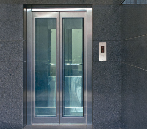 Ss Glass Door Elevator For Industrial Premises And Office Building