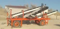 50TPH MOBILE SAND SCREENING PLANT