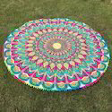 Round Beach Pareo Terry Towel Fabric