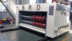 Chain Feed  1/2/3/4 Color Semi Auto Printer Slotter