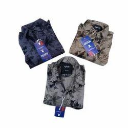 Mens Cotton Printed Designer Shirt, Size: M, L and XL
