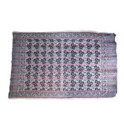 Gray Printed Cotton PT Deluxe Chadar, Size: 5x7 Feet