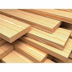 Brown Pine Wood Plank, Length: 8 feet