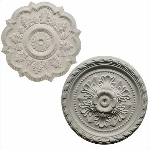 Gypsum Ceiling Medallion, Thickness: 20-35 mm