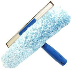 Unger Microfiber Window Combi: 2-in-1 Professional Squeegee and Window Scrubber 25 CM