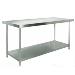Stainless Steel Two Layer Kitchen Table