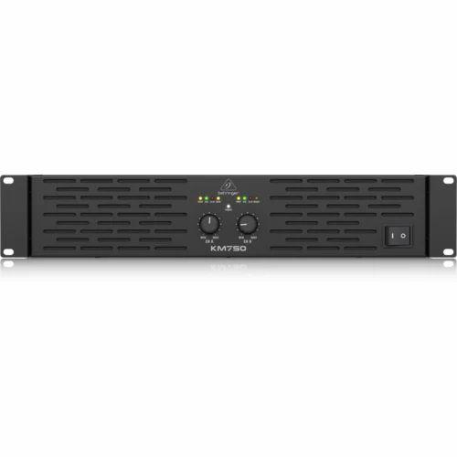 Professional 750 Watt Stereo Power Amplifier