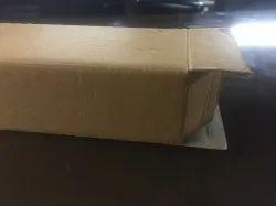 Brown Rectangular Plain Eflute Corrugated Box