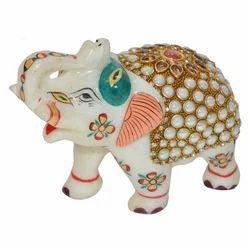Marble Stone Work Elephant