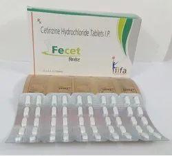 Cetirizine HCl 10mg Tablets