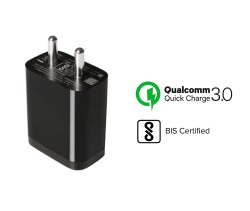 Black Mi Charging Adapter