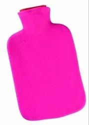 PVC Hot Water Bag with Cover, Size: 2.5 L