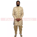 Formal Indo Western In Khadi Suit
