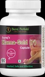 Suraj Herbals Suraj's Kama-Gold (F) Capsule, Packaging Type: Bottle
