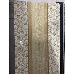 Decorative Single Panel PVC Door, for Home, Office etc, Interior