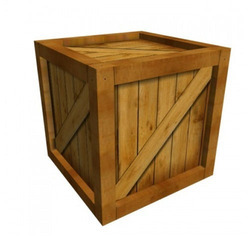 Wooden Palletized Packaging Boxes for Export Industry