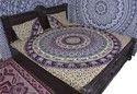 Elephant Chain Mandala Duvet Cover