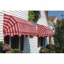 Striped Outdoor Canopy