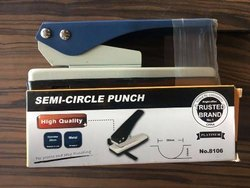 D Cut Semi Circle Punch