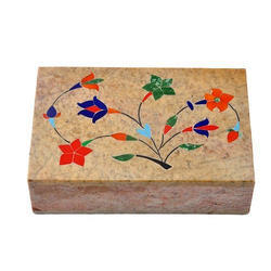 Handcrafted Soapstone Box
