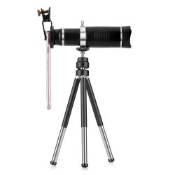 12X Zoom Portable Mobile Telescope Clip Lens