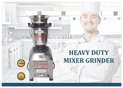 3HP Heavy Duty Mixer Grinder