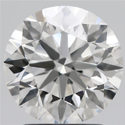 2.14ct Lab Grown Diamond CVD H VVS2 Round Brilliant Cut IGI Certified Stone