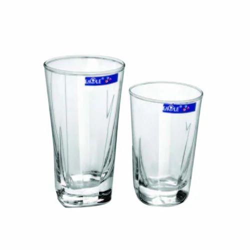 37bc942e4cf Eagle Water Glasses, Rs 220 /set, Eagle Glass Deco Private Limited ...
