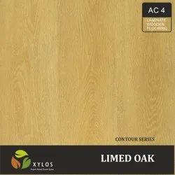 Limed Oak Laminated Wooden Flooring