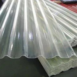 Cold Rolled Plain Transparent Plastic Roofing Sheet, Thickness Of Sheet: 4-6mm