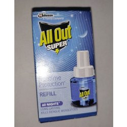 All Out Mosquito Repellent, Packaging Type: Box, Packaging Size: 45 Ml